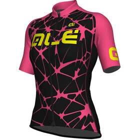 Alé Cycling Solid Cracle Bike Jersey Shortsleeve Women pink/black